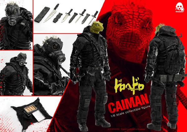 "Stylized - NEW PRODUCT: ThreeZero: 1/6 ""Alien Monsters/Dorohedoro""-Caiman Animation Edition Dorohedoro-Caiman06"