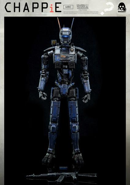 《超人類:卓比》CHAPPiE – ThreeZero Online Store