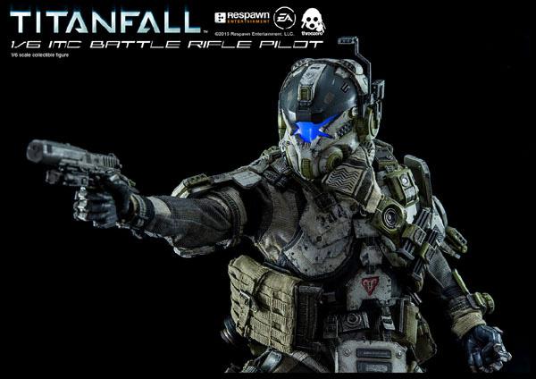 titanfall imc battle rifle pilot � threezero online store
