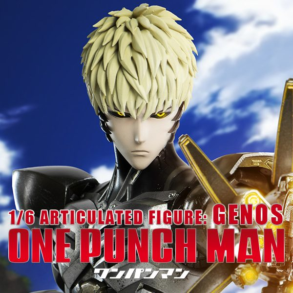 ONE-PUNCH MAN - 1/6 Articulated Figure : GENOS
