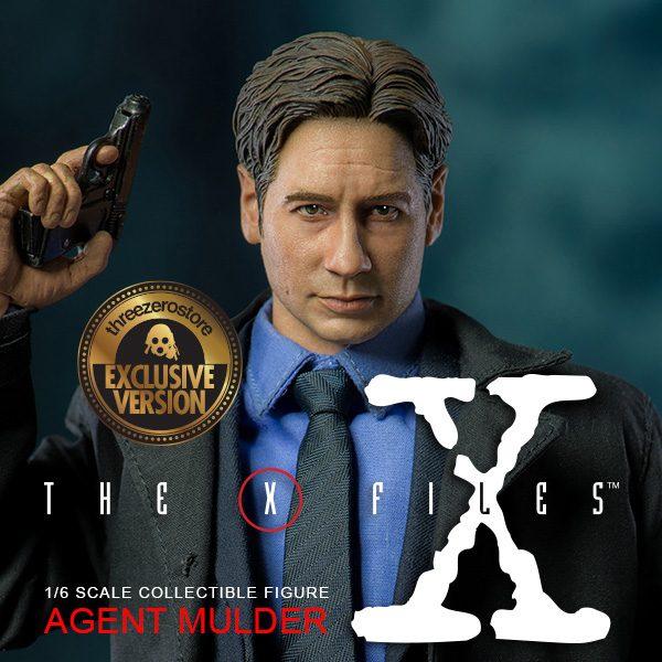 經典科幻劇集《X檔案》莫探員(Agent Mulder) 限定版 – ThreeZero Online Store