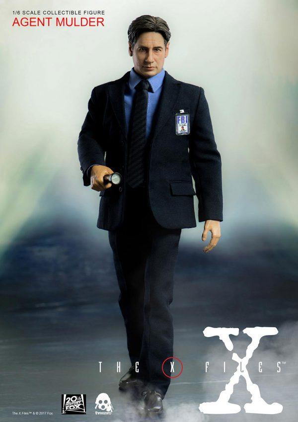 經典科幻劇集《X檔案》莫探員(Agent Mulder) – ThreeZero Online Store