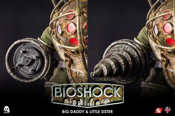 【生化奇兵】BIOSHOCK – 1/6 Big Daddy 與 Little Sister – ThreeZero Online Store