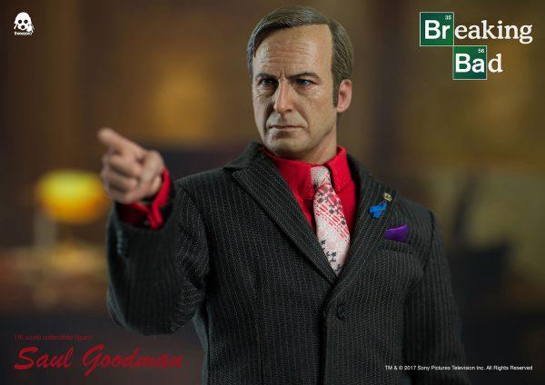 流氓律師索爾·古德曼(Saul Goodman) – ThreeZero Online Store