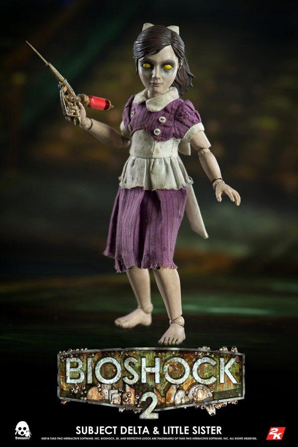 【生化奇兵 2】BIOSHOCK 2 – Delta 與 Little Sister (豪華版) – ThreeZero Online Store