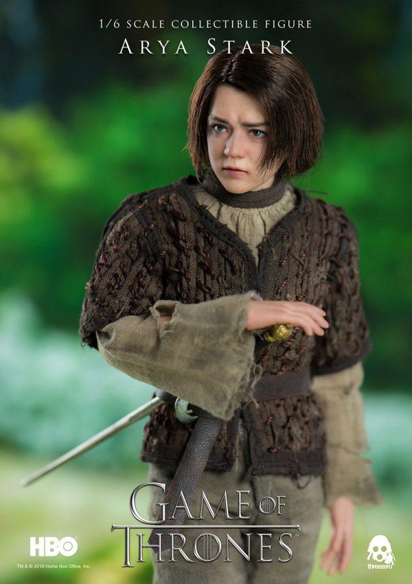《冰與火之歌:權力遊戲》Game of Thrones – 艾莉亞·史塔克(Arya Stark) – ThreeZero Online Store