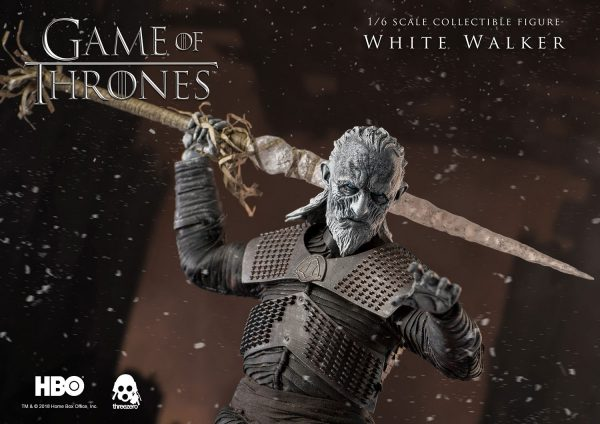《冰與火之歌:權力遊戲》Game of Thrones 異鬼(White Walker)(標準版) – ThreeZero Online Store
