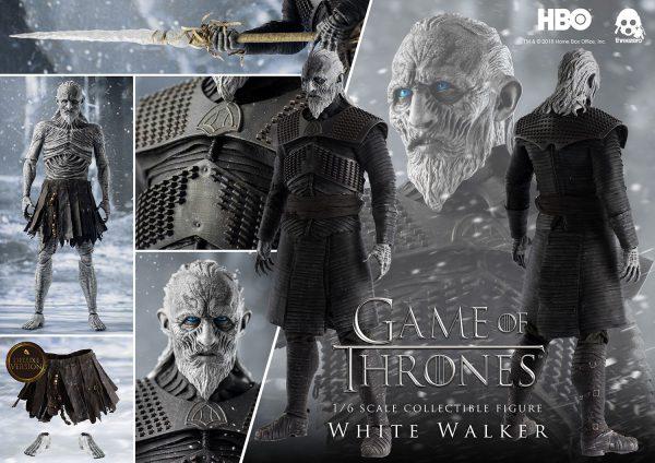 《冰與火之歌:權力遊戲》Game of Thrones 異鬼(White Walker)(豪華版) – ThreeZero Online Store