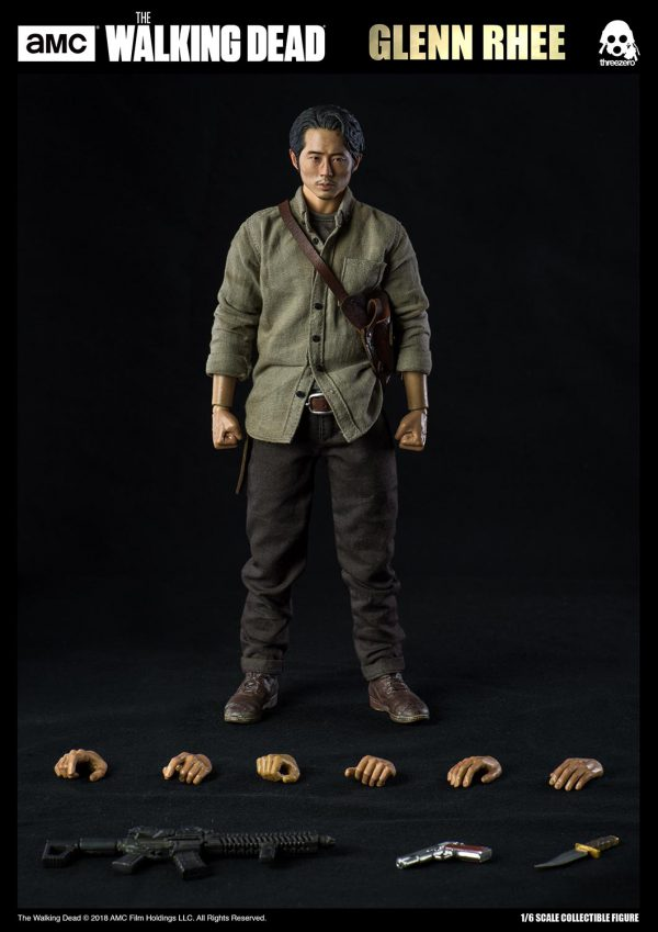The Walking Dead【行屍走肉】葛倫·瑞(Glenn Rhee)(標準版) – ThreeZero Online Store