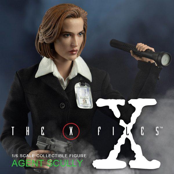 《X檔案》郭探員(Agent Scully)(標準版) – ThreeZero Online Store
