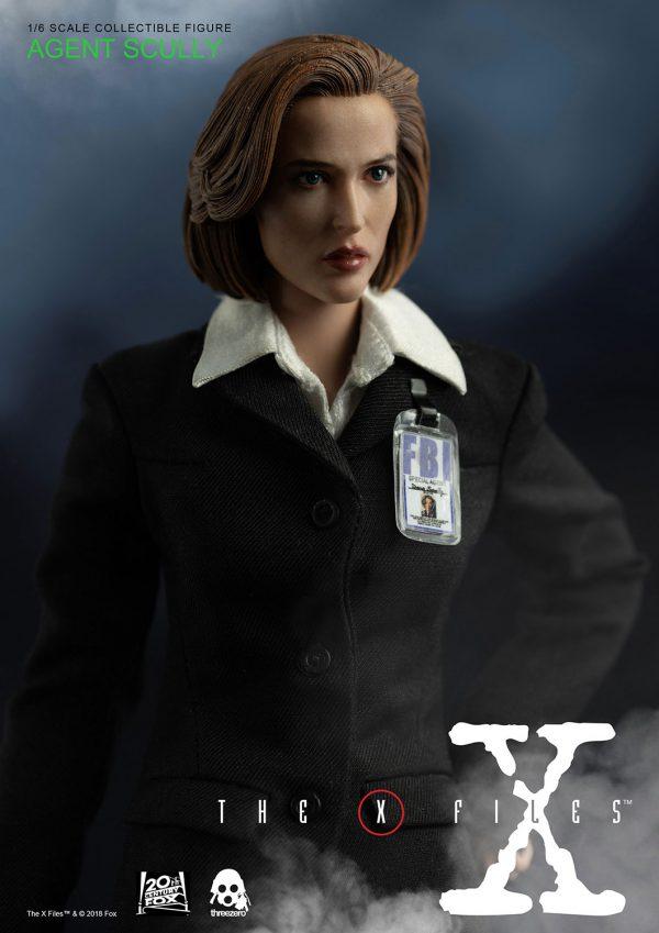 《X檔案》郭探員(Agent Scully)(豪華版) – ThreeZero Online Store
