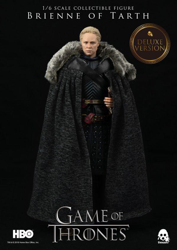 《冰與火之歌:權力遊戲》Game of Thrones塔斯的布蕾妮(Brienne of Tarth)(第7季)(豪華版) – ThreeZero Online Store