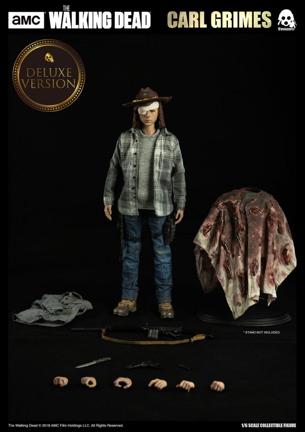 【行屍走肉】The Walking Dead – 卡爾·格萊姆斯(Carl Grimes)(豪華版) – ThreeZero Online Store