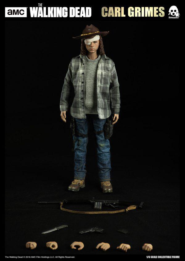 【行屍走肉】The Walking Dead – 卡爾·格萊姆斯(Carl Grimes)(標準版) – ThreeZero Online Store