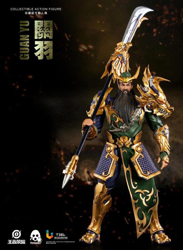 《王者榮耀》- 關羽 – ThreeZero Online Store