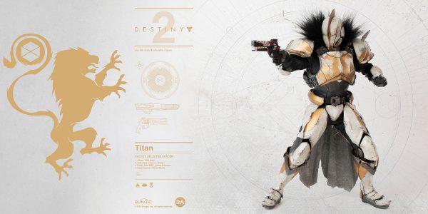 """《天命2》""""泰坦"""" CALUS'S SELECTED 風格配色 – ThreeZero Online Store"""