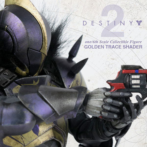 DESTINY 2 TITAN GOLDEN TRACE SHADER