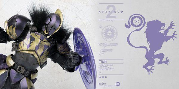 """《天命2》""""泰坦 GOLDEN TRACE 風格配色 – ThreeZero Online Store"""