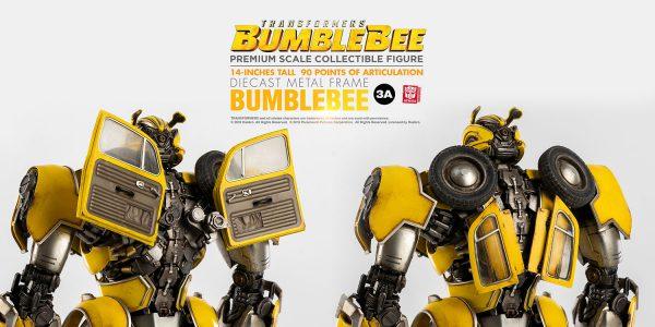 變形金剛外傳《大黃蜂》- 大黃蜂極緻比例收藏級系列 – ThreeZero Online Store