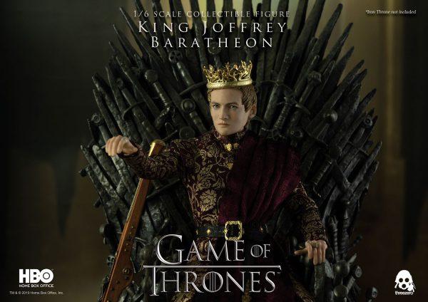《冰與火之歌:權力遊戲》Game of Thrones 喬佛里.拜拉席恩國王( King Joffrey Baratheon)(豪華版) – ThreeZero Online Store