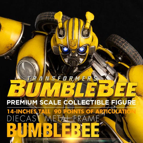 变形金刚外传《大黄蜂》- 大黄蜂极致比例