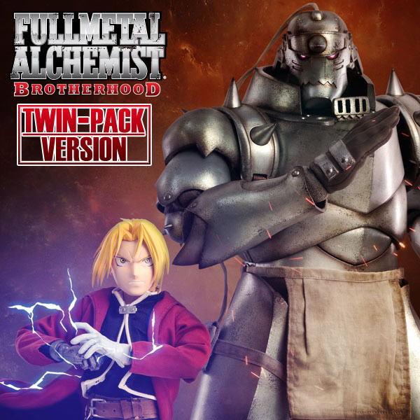 Fullmetal Alchemist: Brotherhood – Twin-Pack