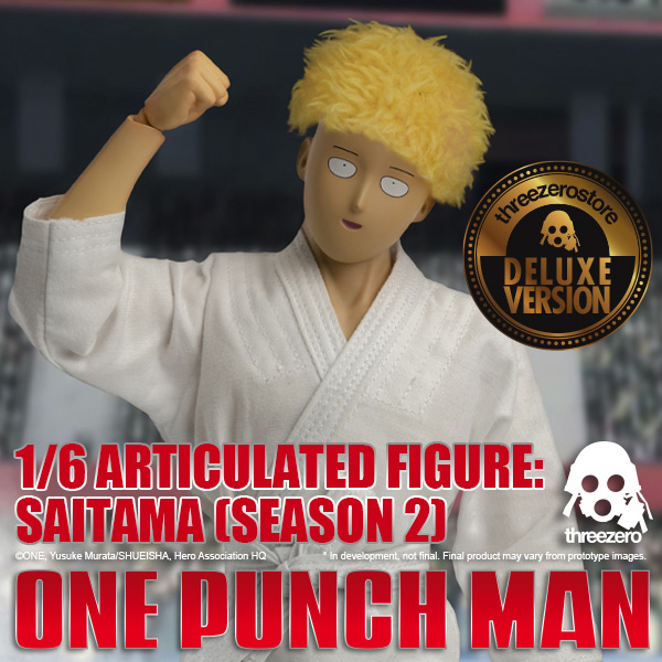 1/6 Articulated Figure: Saitama (SEASON 2) Deluxe edition