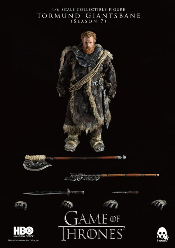 ThreeZero : Game of Thrones – 1/6 Tormund Giantsbane GOT_Tormund_wlogo_i-600x848