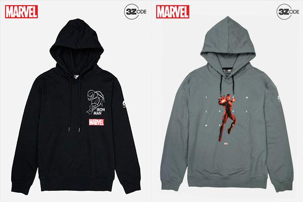 Marvel-Hoodie-Series